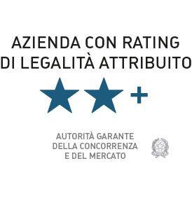 logo certificazione di legalità azienda rating